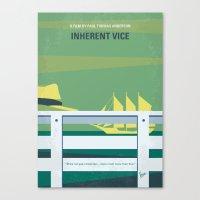 No793 My Inherent Vice minimal movie poster Canvas Print