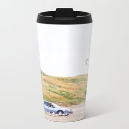 Feeding the Seagulls Metal Travel Mug