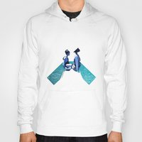 holiday Hoodies featuring Holiday by Laura O'Connor