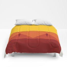 Geometric Afternoon Print Comforters