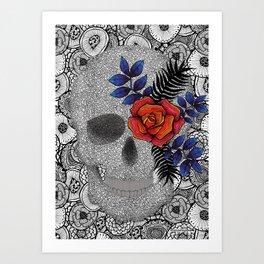 Pupo´s Skull Art Print