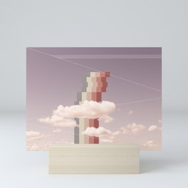 Cloud Study 123: Sailors Delight Mini Art Print