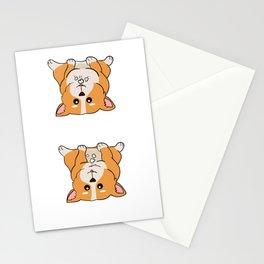 Dog Doglover Corgi dog cute pet funny gift fluffy birthday Stationery Cards