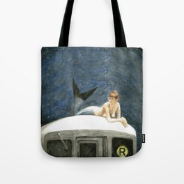 The Montague Street Tunnel Tote Bag