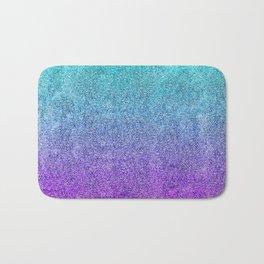 Tropical Twilight Glitter Gradient Bath Mat