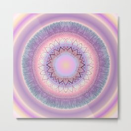 pinkish Metal Print