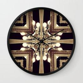 Urban Light Noir Wall Clock