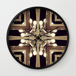 Urban Light Noir Wall Clock