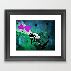 Love Calling Framed Art Print