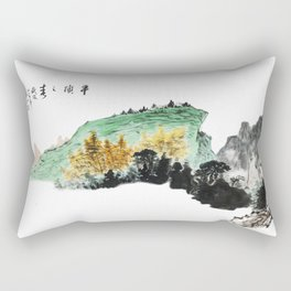 Spring of Pin-Din Rectangular Pillow
