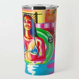 Pool Time Travel Mug