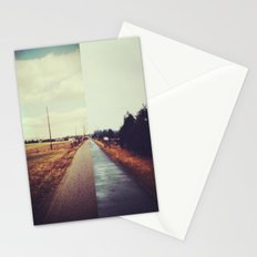 two into one Stationery Cards