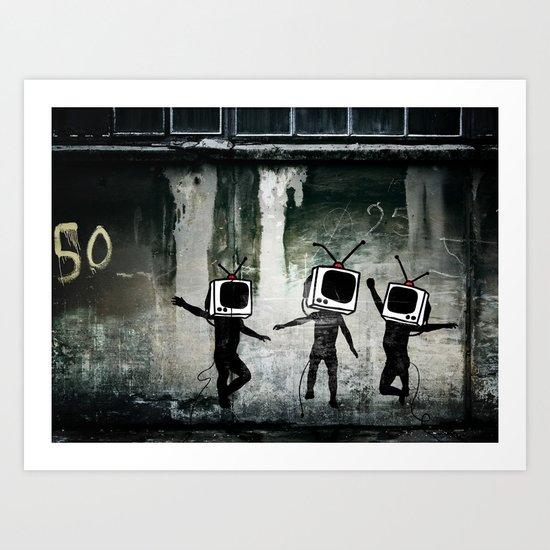 21st Century Digital Boys Art Print