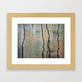 Metal Rain II Framed Art Print