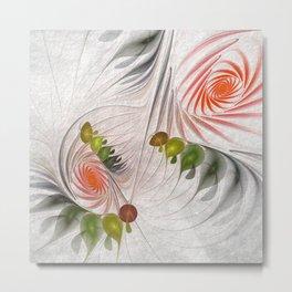 fractal design -17 Metal Print