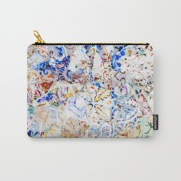 Mosaic of Barcelona VIII Carry-All Pouch