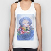 jack frost Tank Tops featuring Frost by katalena