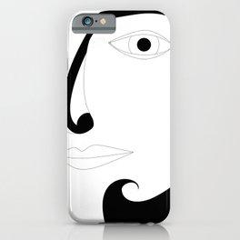 Eye on you portrait iPhone Case