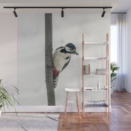 Knock, knock. Who's There? Woodpecker! Wall Mural
