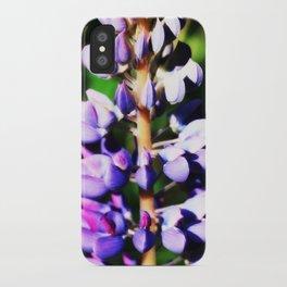 Lupine close up iPhone Case