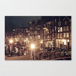 I Amsterdam.01 Canvas Print