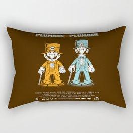 Plumber and Plumber Rectangular Pillow