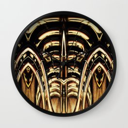 Grilled Wall Clock