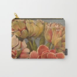 Peonies in Pink Carry-All Pouch