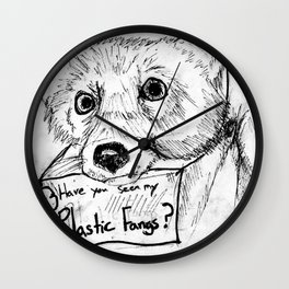 Plastic Fangs Collective Wall Clock