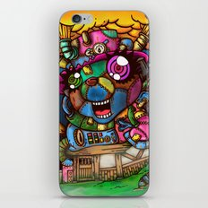 mad house iPhone & iPod Skin