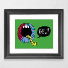 Kwew! Framed Art Print