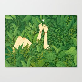 I wanna love u now Canvas Print