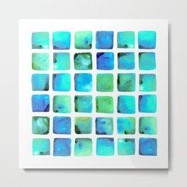 Seaweed Glow Metal Print