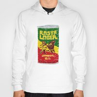 rasta Hoodies featuring Rasta Lager by Moto