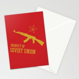 AK-47 (Product of SOVIET UNION) Stationery Cards