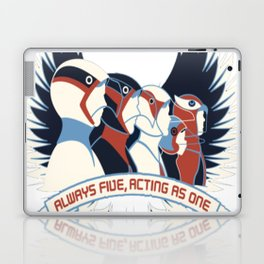Always Five_ Acting As One! Laptop & iPad Skin