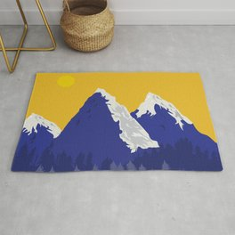 The Mountain Within Rug