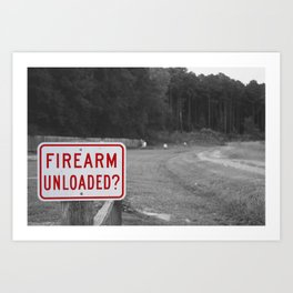 DON'T SHOOT Art Print