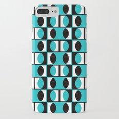 Lens pattern (turquoise) iPhone 7 Plus Slim Case
