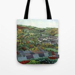 Pontypridd (featuring Sardis Road Rugby Ground) Tote Bag