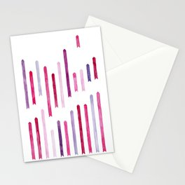 Cotton Candy Arrows Stationery Cards