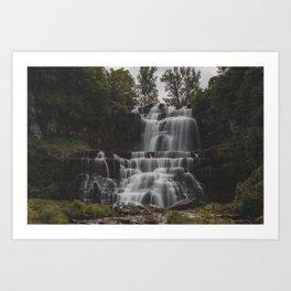 Chittenango Falls - New York Art Print