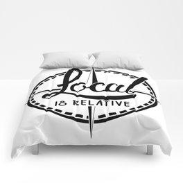 Local is Relative Comforters