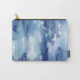 Blue vibes #2 || watercolor Carry-All Pouch