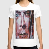 david bowie T-shirts featuring Bowie by Ray Stephenson