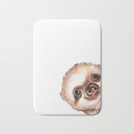 Sneaky Baby Sloth Bath Mat