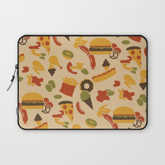 Fast Foodouflage Laptop Sleeve