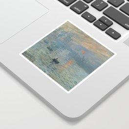Claude Monet's Impression, Soleil Levant Sticker