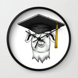 Llama Class of 2019 Graduation Wall Clock