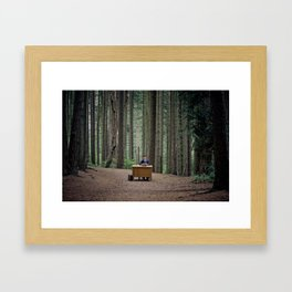 Busy at the Office Framed Art Print